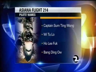 pilot names