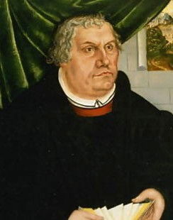 Martin-Luther  by Cranach the Younger